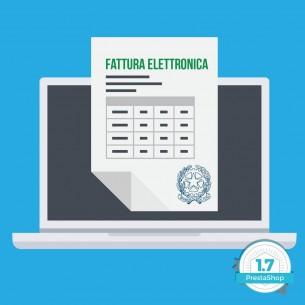 Fatturazione Elettronica per PrestaShop Modulo Base