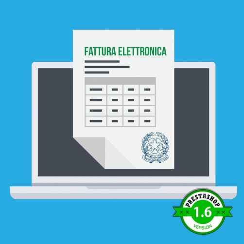 Campi Fatturazione Elettronica per PrestaShop 1.6