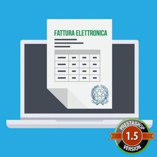 Campi Fatturazione Elettronica per PrestaShop 1.5