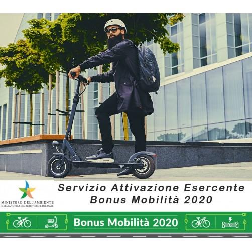 Servizio attivazione esercente per il buono mobilità