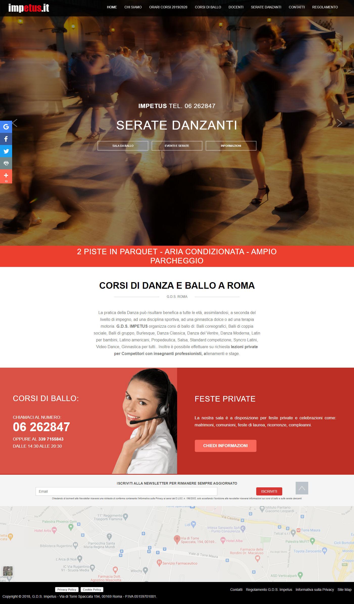 Corsi di Ballo Impetus